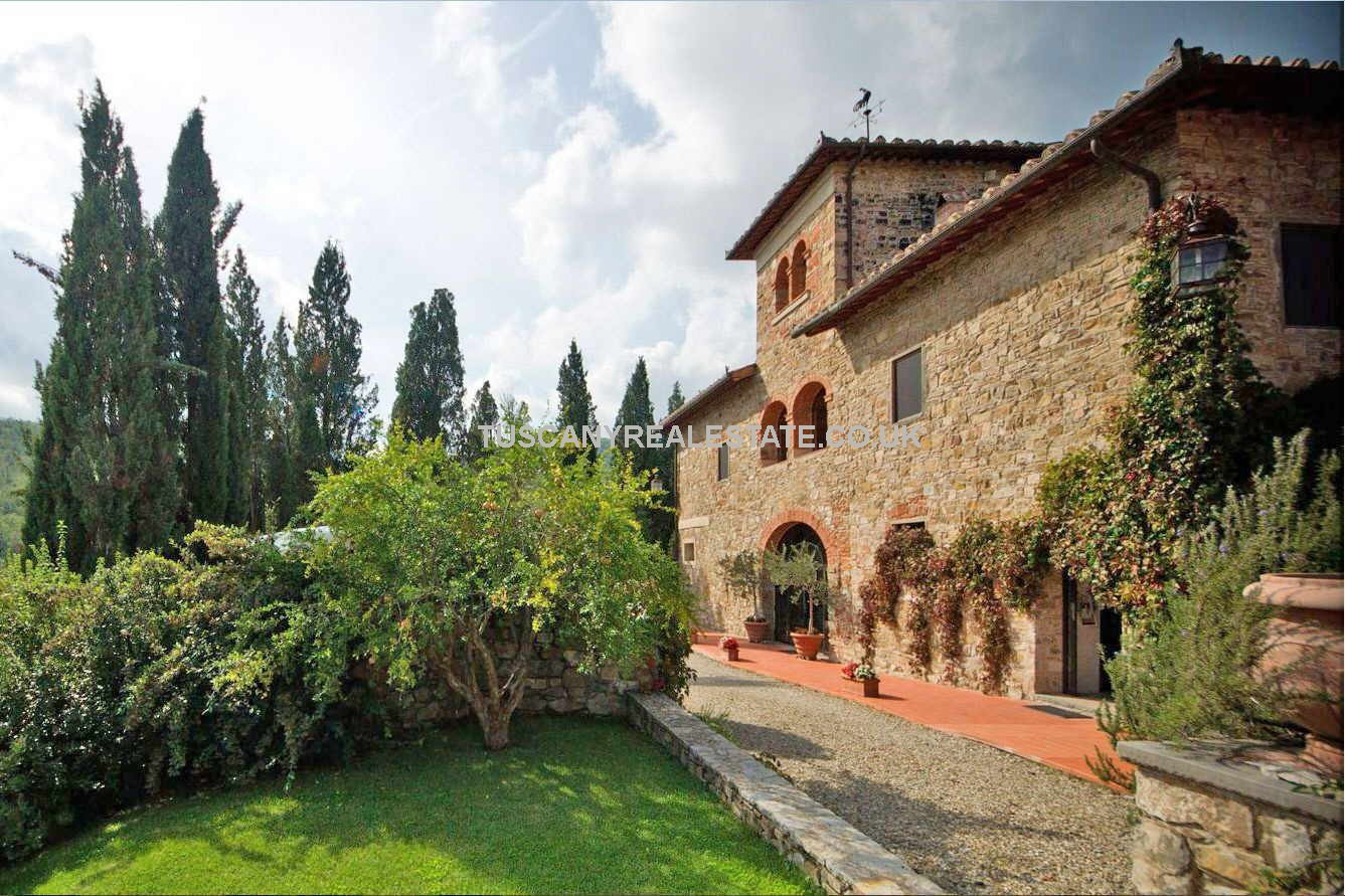 Vineyard Property Greve in Chianti Tuscany Tuscany Real Estate