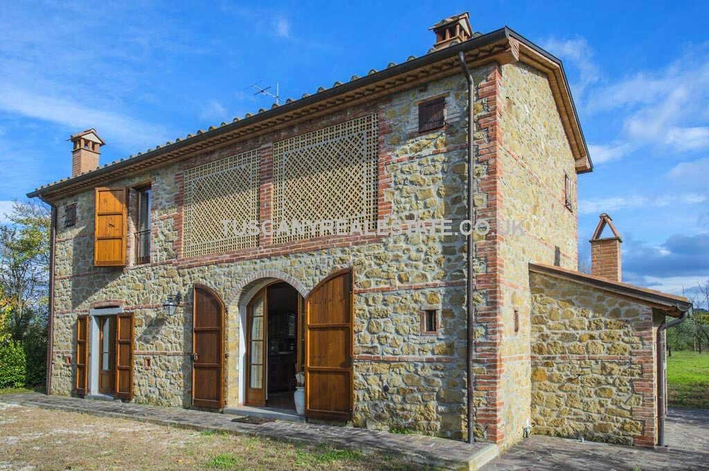 Tuscan Farmhouse Tuscany Real Estate