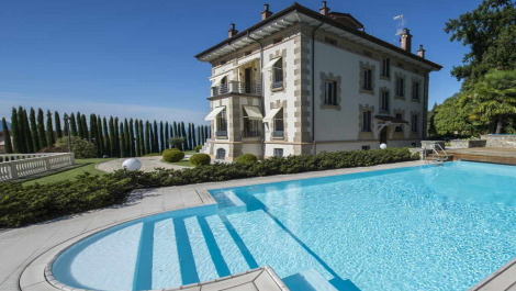 Luxury Villa with Lake Maggiore Views