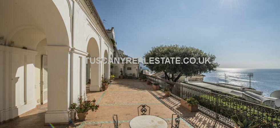 Positano Amalfi Coast property for sale