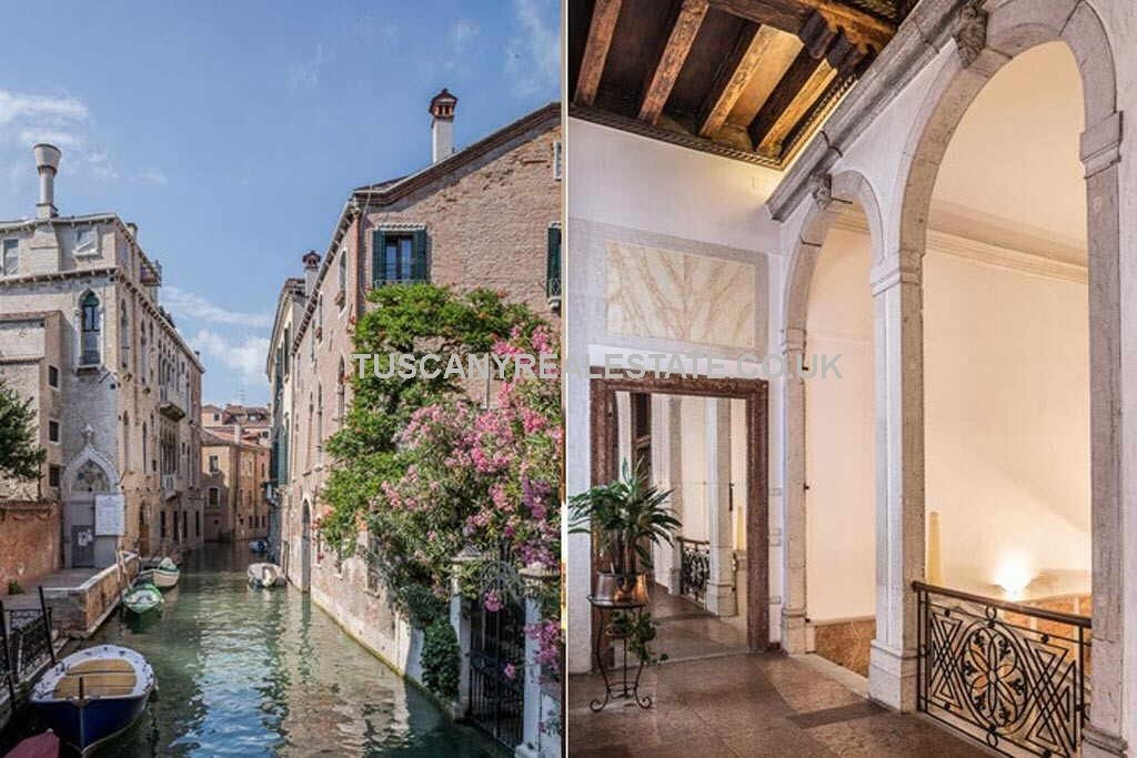 Venice italy canal real estate for Luxury italian real estate