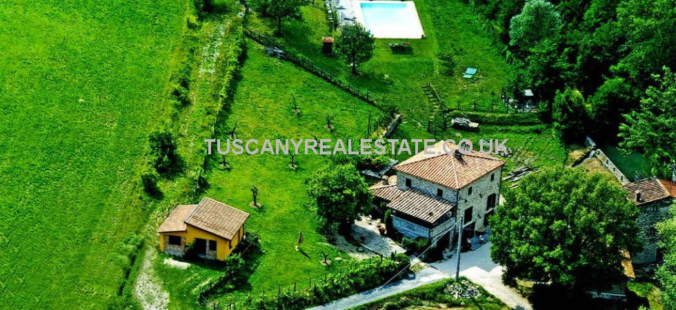 Tuscan Property With Pool