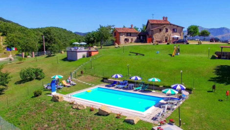 Lifestyle property Gubbio Umbria.