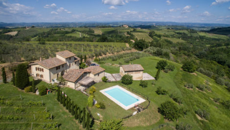 San Gimignano vineyard property
