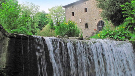 Farm with converted water mill for sale