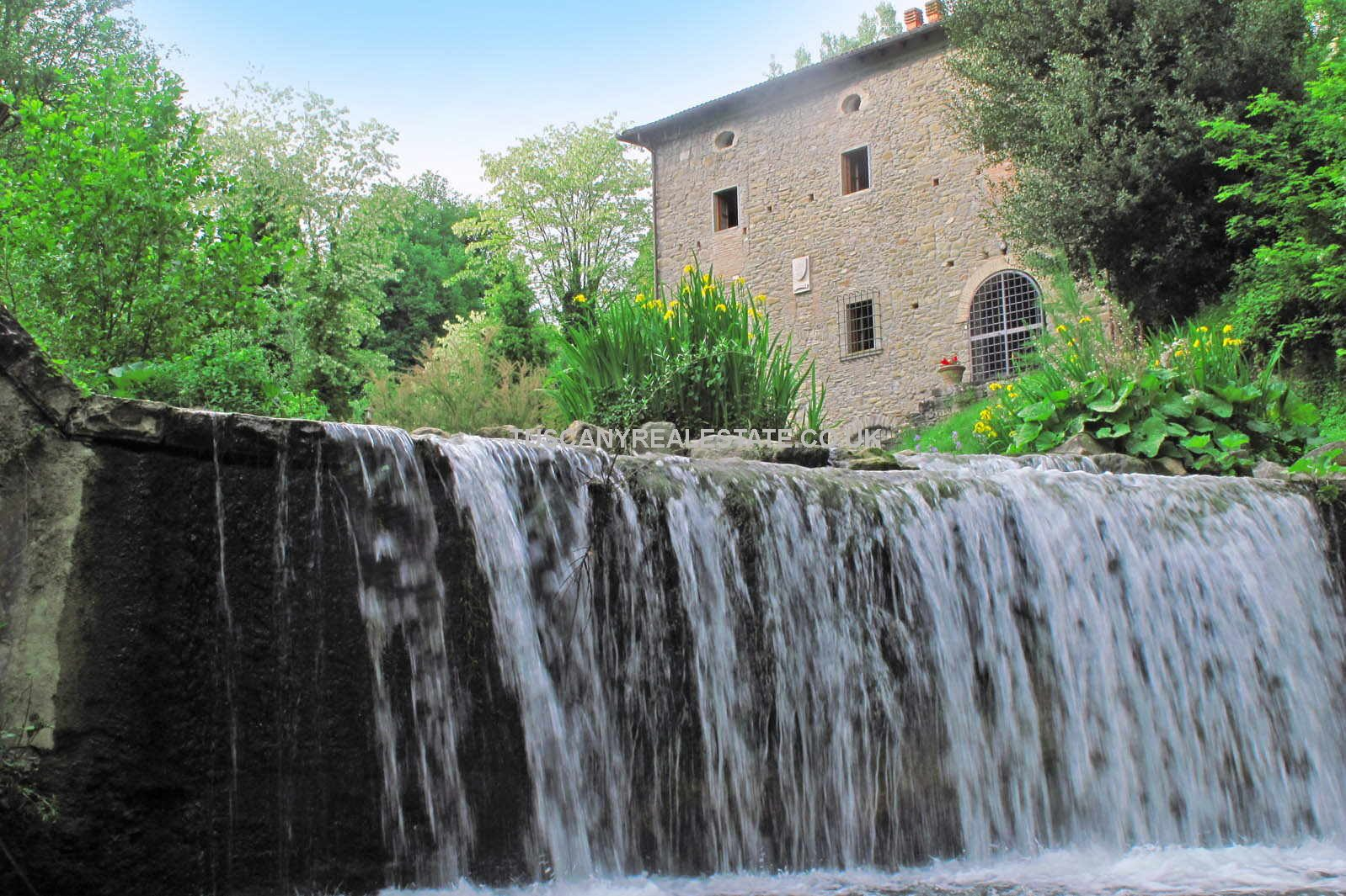 Farm With Converted Water Mill For Sale Tuscany Real Estate