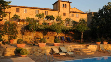 Expansive property Chianti Classico Tuscany