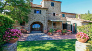 Tuscan Country Villa For Sale, Pool, Tennis Court