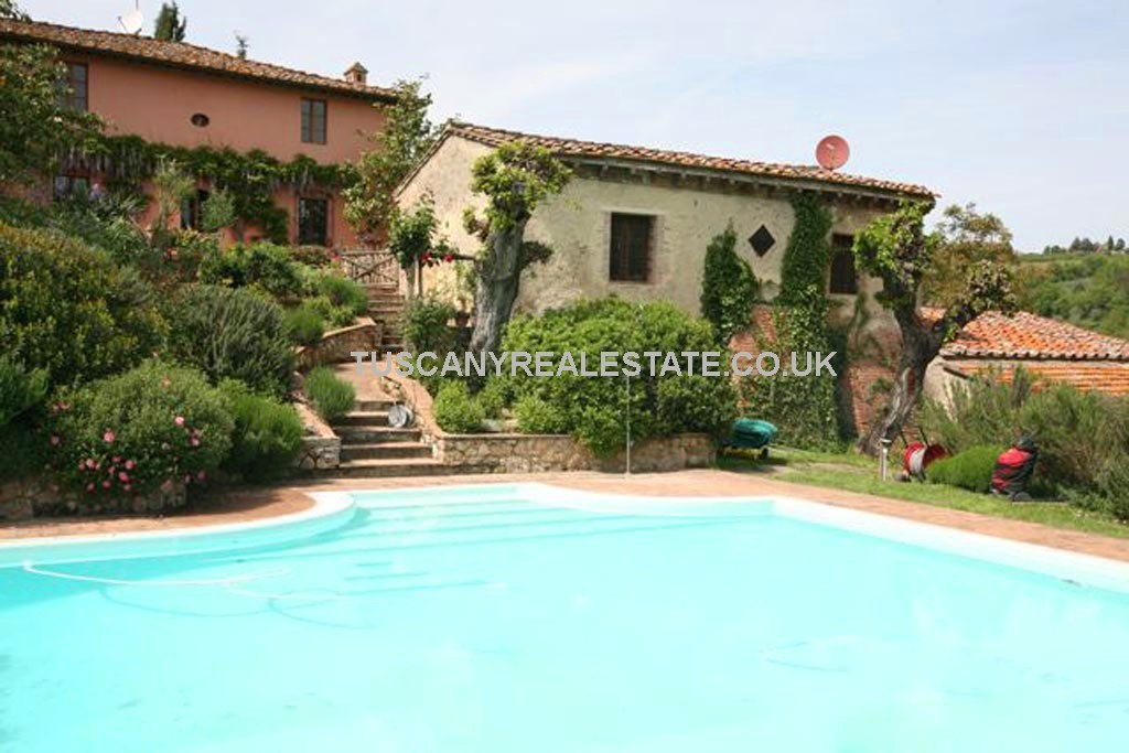 San Gimignano Tuscany Vineyard For Sale