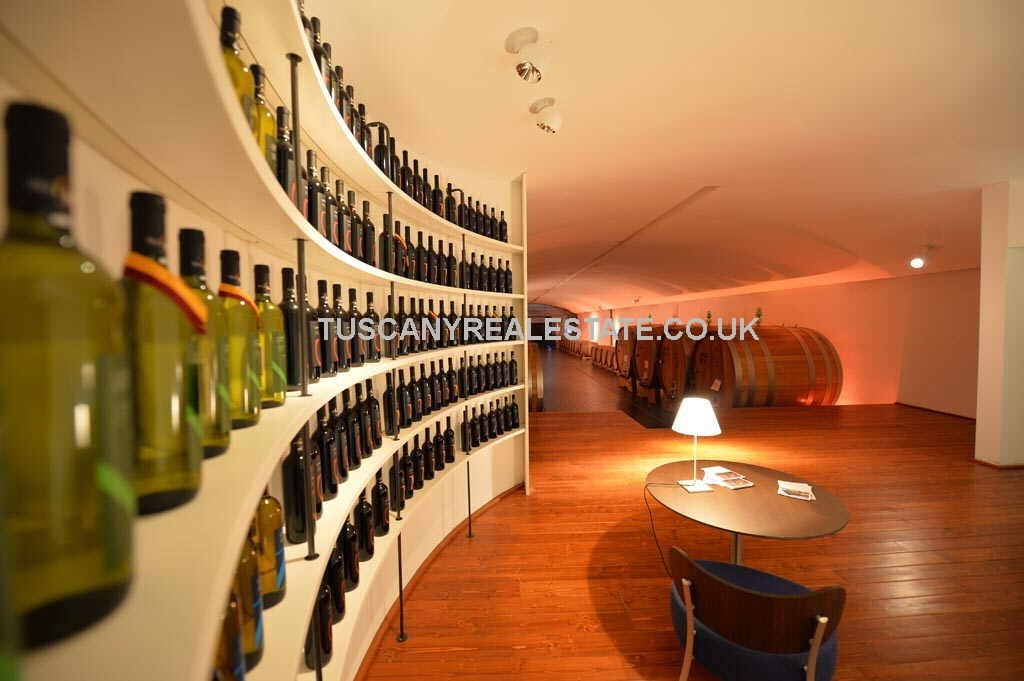 Tuscan Winery and Vineyard for Sale