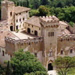 Tuscany castle hotel for sale. Chianti vineyard