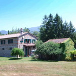 A part restored farmhouse in Tuscany with room to expand using the ground floor and an unrestored annex. 4 bedrooms at the moment, 3 hectares of land and space for a swimming pool.