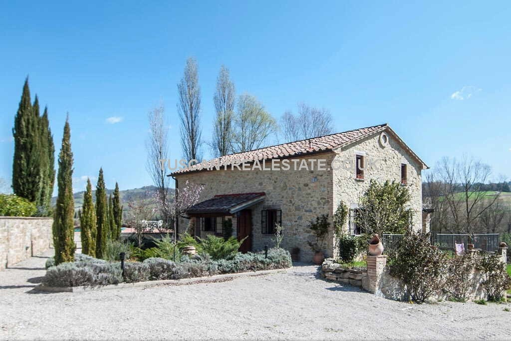 2 Bed farmhouse near Città di Castello