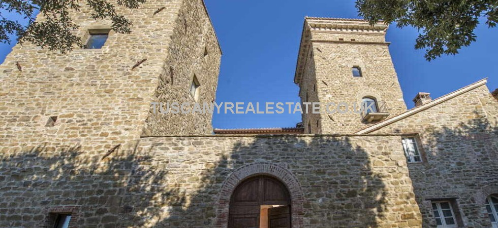 Restored Lake Trasimeno apartments near to Magione in a ancient rocca with quadrangular shape dating back to the XIV Century recently restored and converted into a complex of five apartments, 2 and 3 bed.