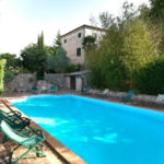 Villa, farmhouse, pool, land, olives