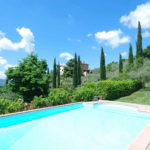 Arezzo Tuscany villa with pool