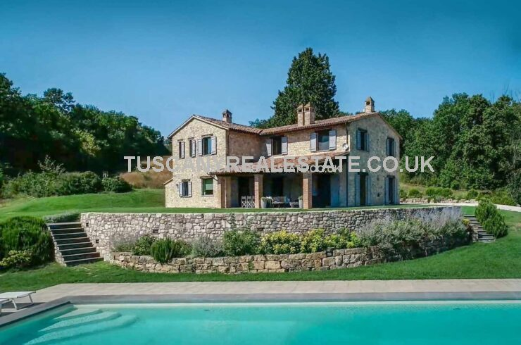 Modern detached country villa