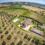 Tuscany wine resort and estate