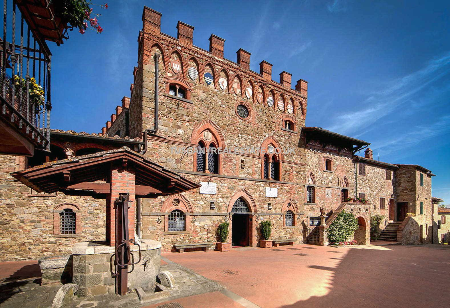 Historic medieval castle for sale in Tuscany