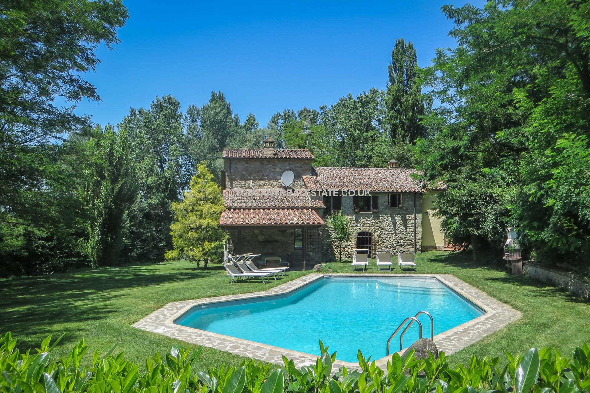 Restored Old Water Mill for sale in Italy