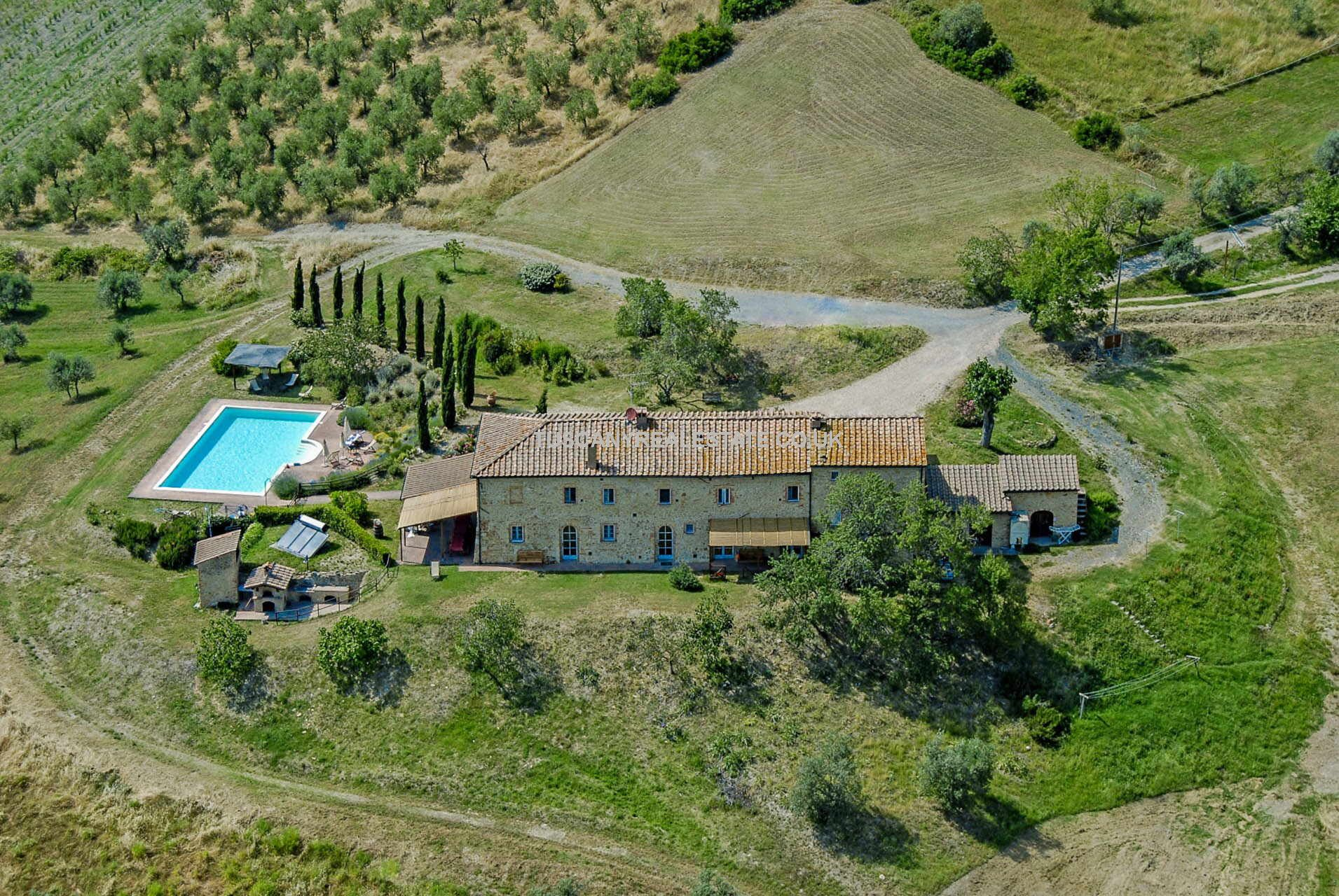 Agriturismo with Small Vineyard and Olive Grove