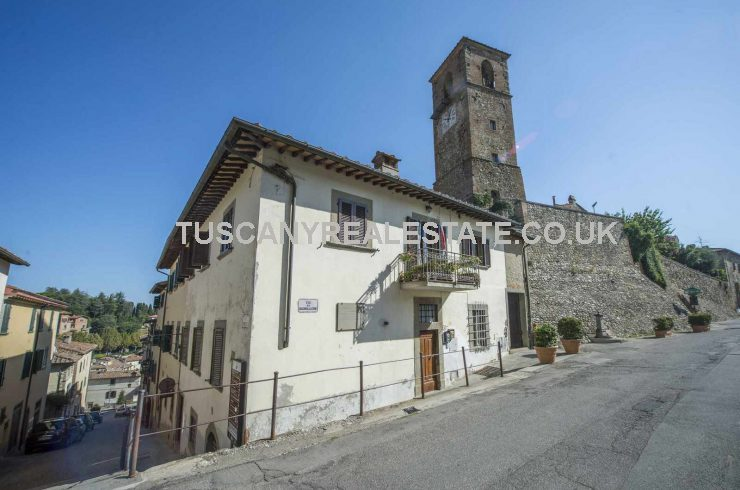 2 Bed Apartment Anghiari restored property