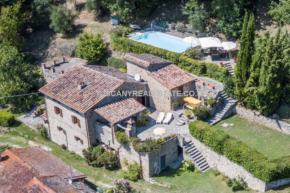 Restored Stone Farmhouse With Pool