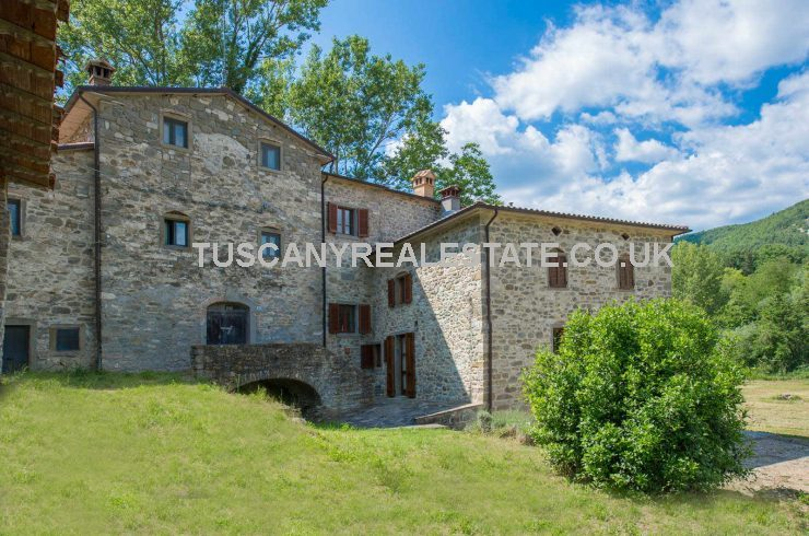 Tuscan converted mill