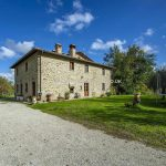 Country stone house