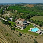 Aerial view of Hotel for sale In Italy