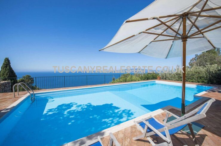 Italian Seaside Villa For Sale